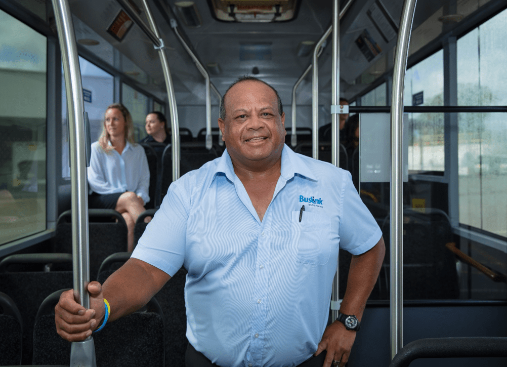 Buslink NT's Community Engagement Manager - Colin Majid